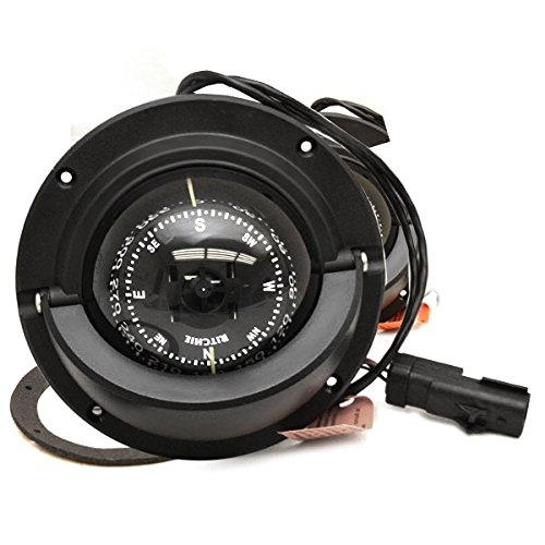 Ritchie Boat Voyager Compass w/Connector F-83-OEM | Four Winns 4 1/8 Inch by Ritchie