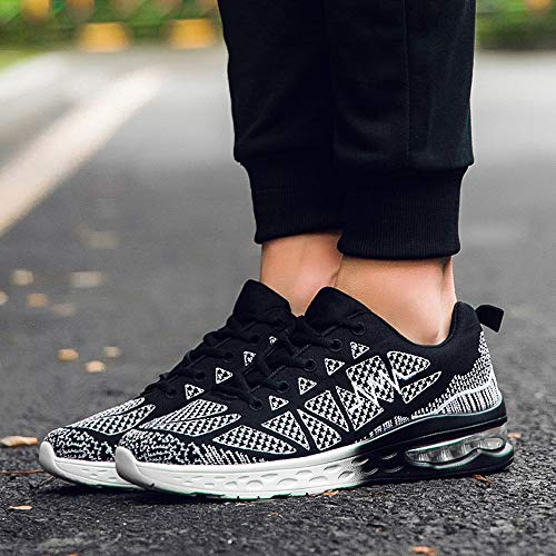Athletic Autumn Outdoor Women Winter Running Shoes Shoes8 Riou Breathable Sport Black AgwxqE1X