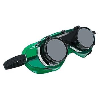 zinnor Flip anteojos de soldadura con lentes interiores transparentes soldador anteojos de seguridad utilizados para soldadura