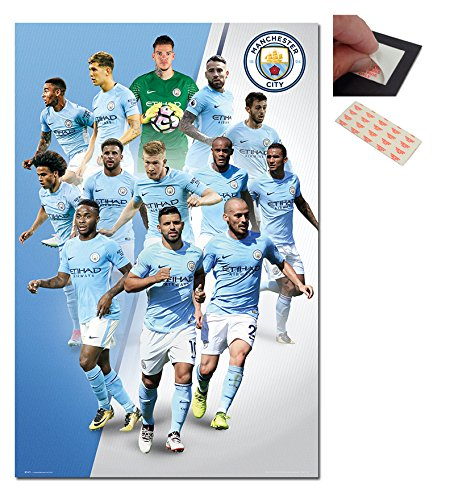 manchester city players 2017 2018