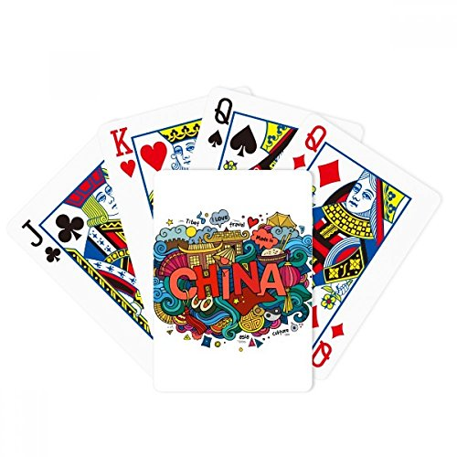 Made In China Asia Chinese Travel Art Poker Playing Cards Tabletop Game Gift by beatChong