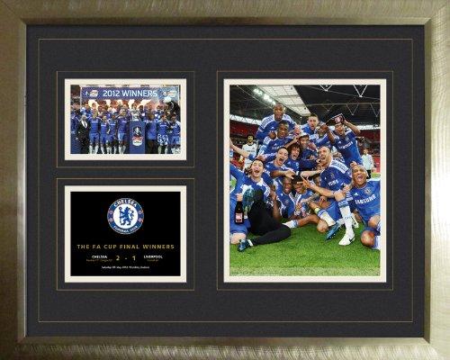 Chelsea FA Cup Winners 2012 Framed Memorabillia