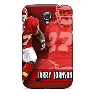 JamieBratt Samsung Galaxy S4 Best Hard Cell-phone Case Allow Personal Design Colorful Kansas City Chiefs Pattern [uBO2540pPNA]