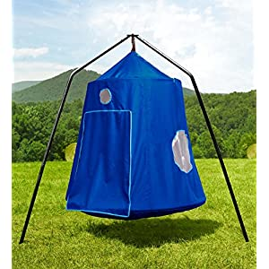 Family HugglePod HangOut with HangOut Stand Special - Blue