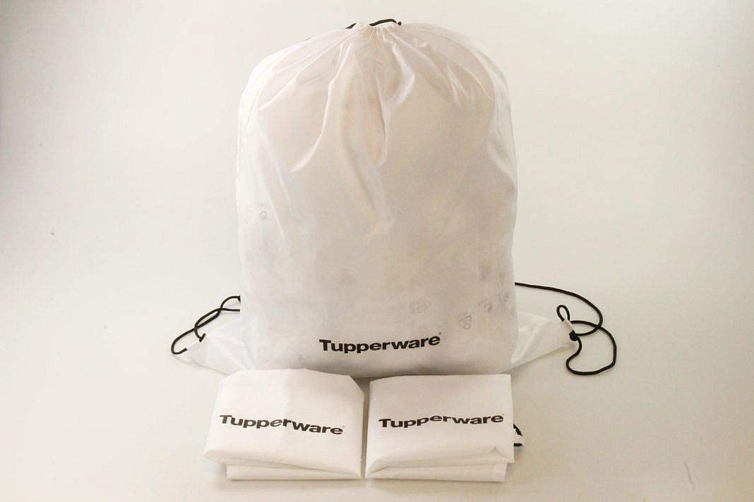 Tupperwares sac tissus