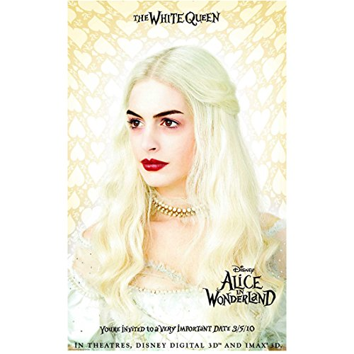 Alice Through the Looking Glass 8 inch x10 inch Photo Anne Hathaway No Smile Looking Right Movie Poster