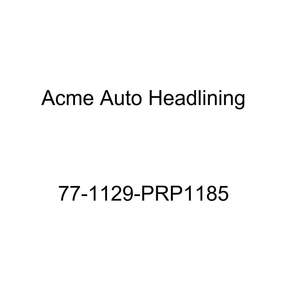 Acme Auto Headlining 77-1129-PRP1185 Brown Replacement Headliner 1977 Buick Century 4 Door Wagon T-Hanger