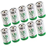 10x SAFT LS26500BA Size C 3.6V 7700mAh Primary Lithium Battery for Xeno and more