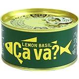 [6缶]国産サバ レモンバジル味 170g×6缶 ギフト箱無