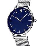 Becoler Relojes de fecha análogos redondos del reloj de la moda para las muchachas de las mujeres