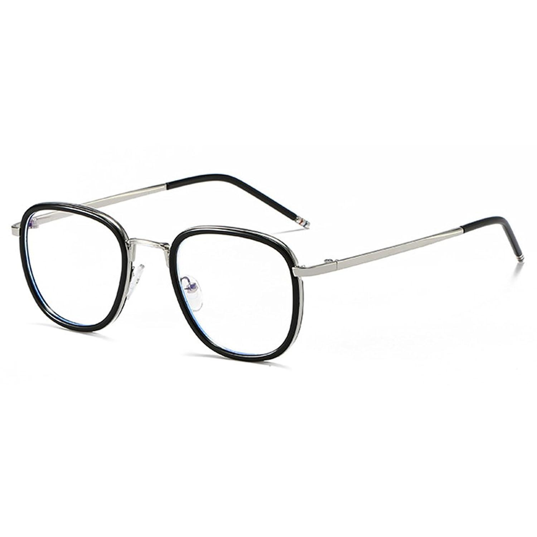 e3fd667132 Anti gafas de luz azul claro gafas lente Geek / Nerd gafas retro marco para  hombres