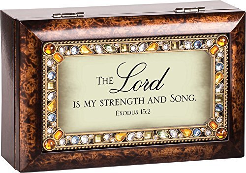最高級 The Lord Is My Jeweled B01IE94B7Q Dark Great Wood Dark Finish Jewelry Music Box - Plays Tune How Great Thou Art by Cottage Garden B01IE94B7Q, TIDING BAG:259cfcfa --- arcego.dominiotemporario.com