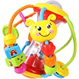 Baby Bucket Toys Ball Baby Rattles Educational Toys for Babies Grasping Ball Puzzle Multifunction Bell Ball 0-18 Months