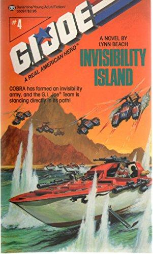 book cover of Invisibility Island