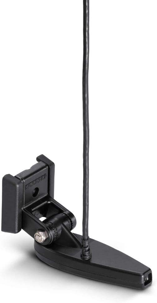 Humminbird 710295-1 XNT 9 HW MDI 75 T HELIX 7/8 (MEGA Down Imaging) Dual Spectrum CHIRP with Temperature Transom Mount Transducer,Black
