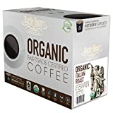 Barrie House Fair Trade Organic Italian Roast Single Serve Capsules (24 Capsules)