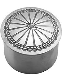 Concha Aluminum Keepsake Treasure Box