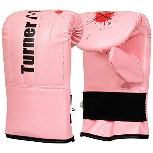 TurnerMAX Bag Mitts, PU, Pink, Small
