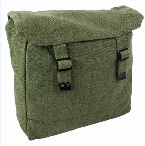 Zip Zap Zooom Highlander Mens Man Combat Military Rucksack Travel Back Pack Canvas Surplus Shoulder Bag