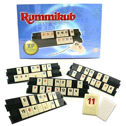 Rummikub 2015 NEW THE ORIGINAL BOARD GAME FAMILY TRAVEL RUMMY TOY XP 6 PLAYERS