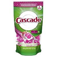 Cascade Actionpacs Dishwasher Detergent, Thai Dragon Fruit Scent 32 Count