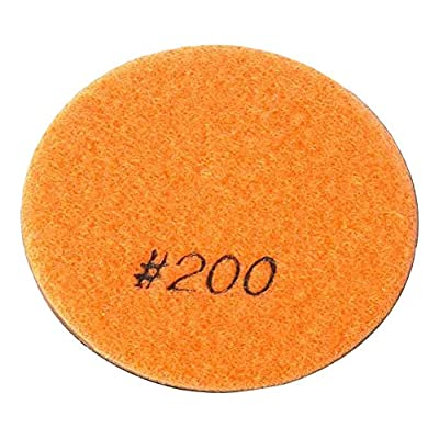 """Specialty Diamond 3200FPAD Resin Dry/Wet Floor Pad, 3"""" 9mm Thick, 200 Grit: Home Improvement"""