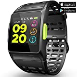 Fitness Tracker GPS Running Watch, Activity Tracker with Heart Rate Monitor, HRV Analysis