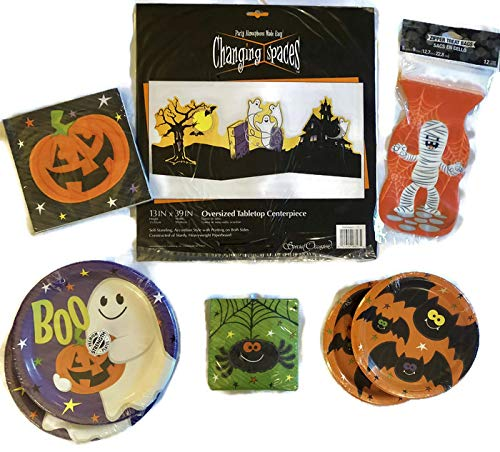 Happy Boo Time Halloween Fun Party Set Includes