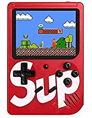 Handheld Game Console for Children, Built-in 400 Games, with 3.0 Inch LCD Display.