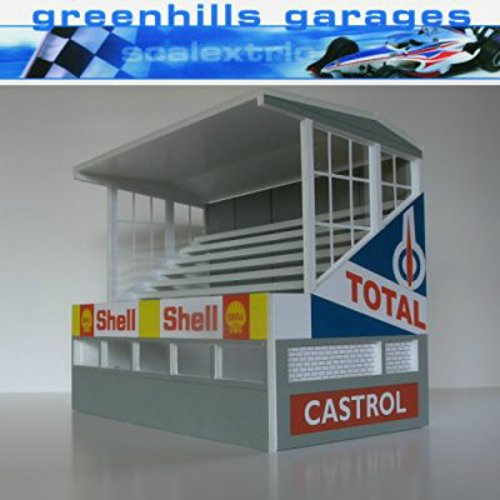 Greenhills Scalextric Slot Car Buildings Reims Starter Pack Kit 1 32 Scale