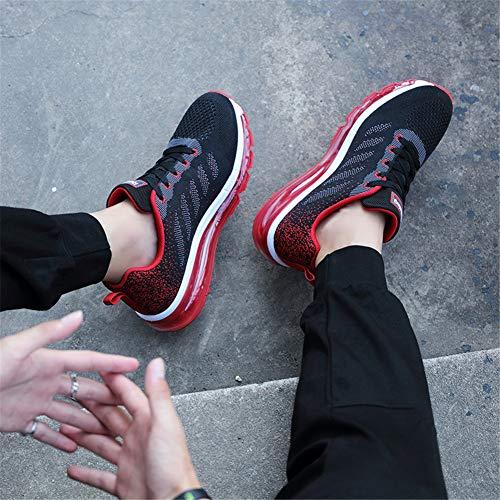 Corsa Air Da Sneakers Donna Scarpe Rosso Ginnastica Basse Uomo Unisex Sportivo All'aperto Casual Interior 6CUYaq