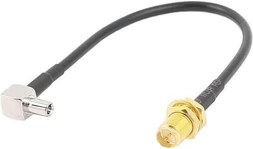 Xigeapg Ts9 Cable Macho A Rp-SMA-Ky Hembra Rg174 Cable Coaxial De ...