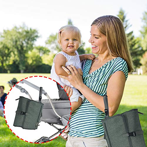 Portable Baby Diaper Changing Pad - Portable New Born Baby Accessories & Gifts
