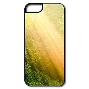 IPhone 5 5S Cover, Rays Light White/black Cases For IPhone 5/5S