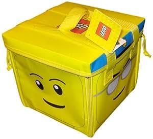 Neat-Oh! LEGO Head ZipBin 800 Brick Toy Tote & Playmat