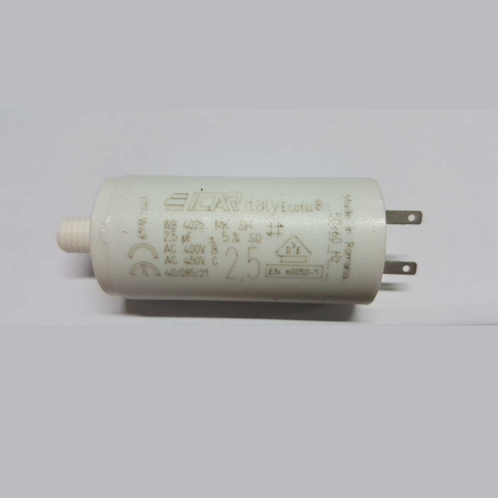 Somfy 2.5 Micro Farad Capacitor Terminal for Shutters Icar