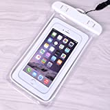 """Waterproof Case Universal CellPhone Dry Bag Pouch CaseHQ for Apple iPhone 6S, 6, 6S Plus, SE, 5S, Samsung Galaxy S7, S6 Note 7 5, HTC LG Sony Nokia Motorola up to 5.7"""" diagonal"""