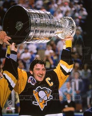 Mario Lemieux Pittsburgh Penguins 1991 Stanley Cup Photo 8x10 #3