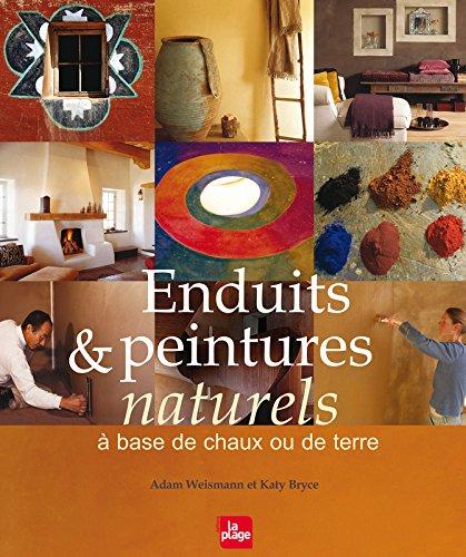 Enduits et peintures naturels à base de chaux ou de terre