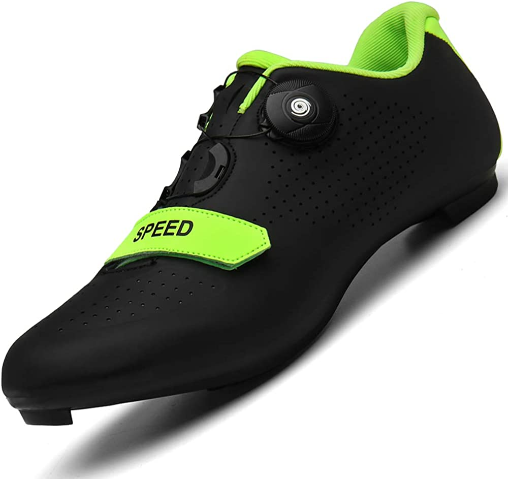 Professional City Road Cycling Shoes Men Outdoor Bike SPD Cleat Bicycle Sneakers