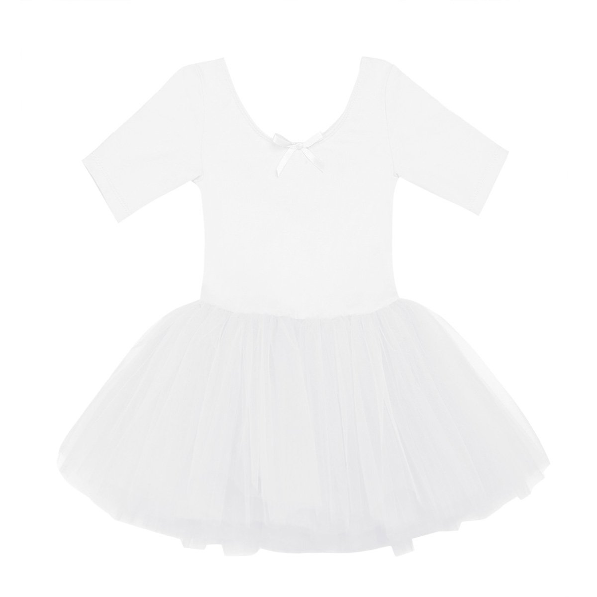 Freebily Children Girls Rhinestones Ballet Dance Tutu Dress Ballerina Leotard Fairy Princess Dress up Costumes