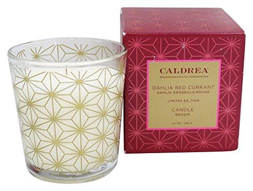 Caldrea - Candle Dahlia Red Currant - 8.1 - Candle Caldrea