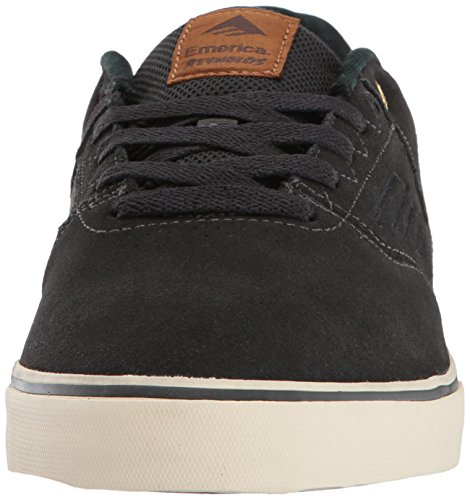 Low da Emerica Uomo Grey The Vulc Scarpe Dark Skateboard da Reynolds ZXEwX