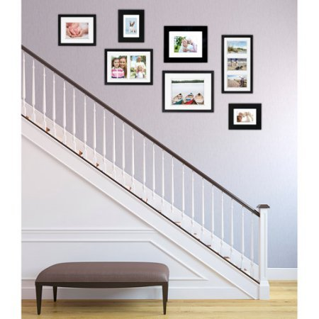 Wide Picture Frame Black, Set of 2, 8''x10'' Black by Better Homes and Gardens