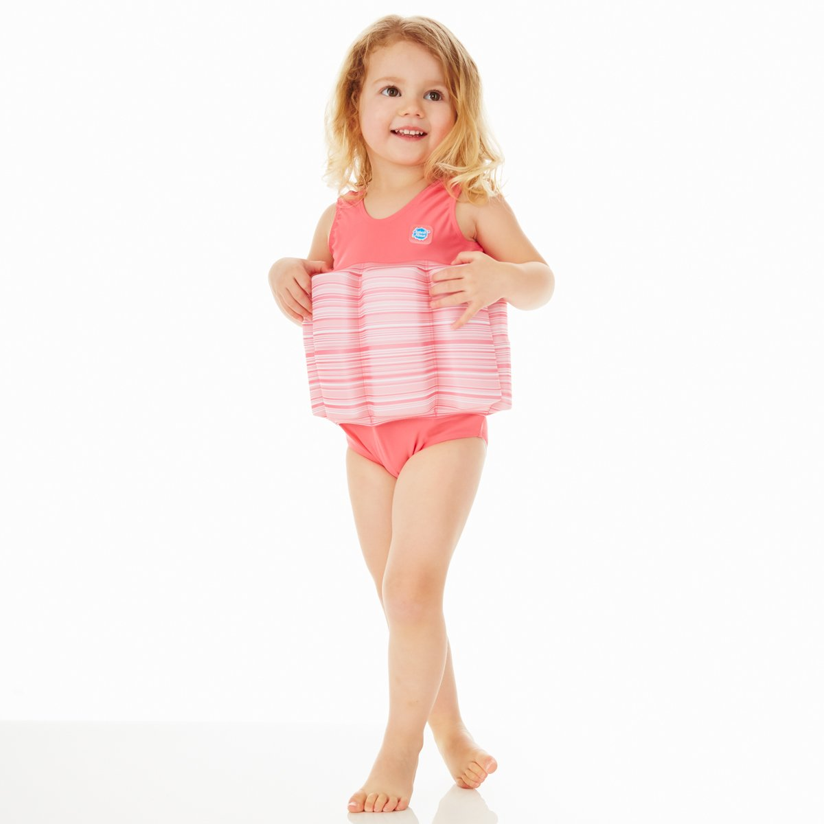 Splash About Collections Float Suit - Adjustable Buoyancy, 1-6 Years (Pink Classic, 4-6 Years (Chest: 61cm   Length: 43cm)) by Splash About (Image #2)