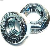 Hard-to-Find Fastener 014973242589 Coarse Hex Serrated Flange Nuts, 1/2-13, Piece-50