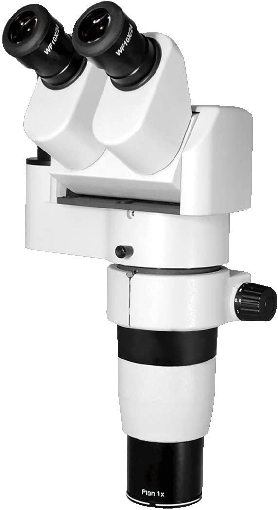 Adjustable Eyetube Angle 0-35 Degrees with Focusable Eyepieces PZ04011132 BoliOptics 8-50X Trinocular Parallel Zoom Stereo Microscope Head
