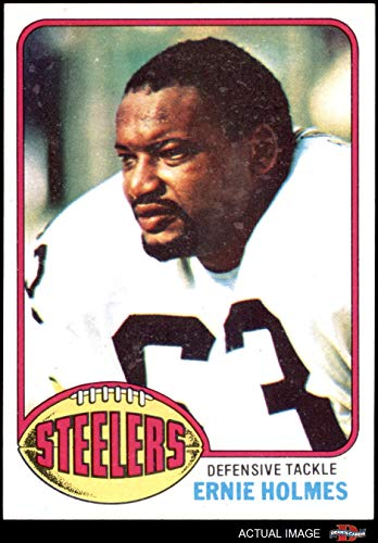 (1976 Topps # 9 Ernie Holmes Pittsburgh Steelers (Football Card) Dean's Cards 5 - EX Steelers )