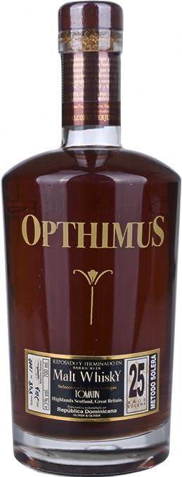 opthimus 25 años Malt Whiskey Barrel Rum (1 x 0,7 l)