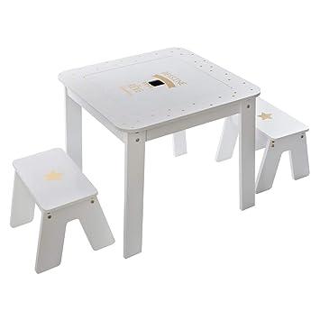 Atmosphera Table De Jeux Avec Rangement Et Plateau Reversible 2
